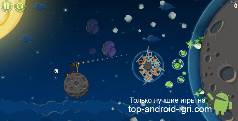 Картинка обзора Angry Birds Space для Android