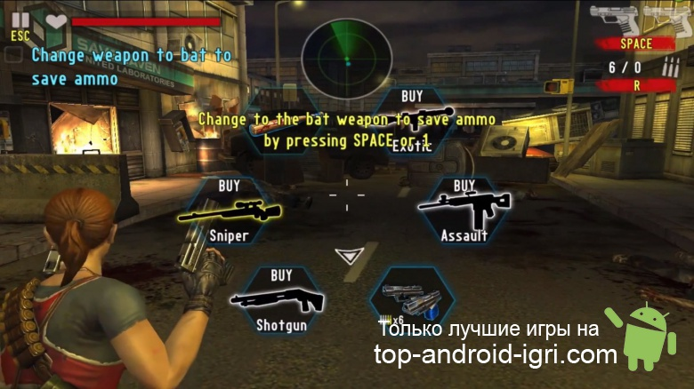 Картинка обзора CONTRACT KILLER: ZOMBIES (NR) для Android
