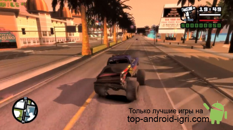 Картинка обзора Grand Theft Auto: San Andreas для Android