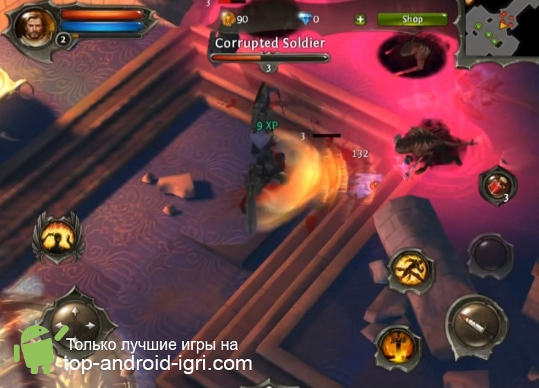 Картинка обзора Dungeon Hunter 4 для Android