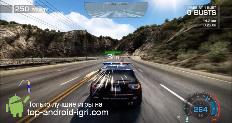 Картинка обзора Need for Speed Hot Pursuit для Android