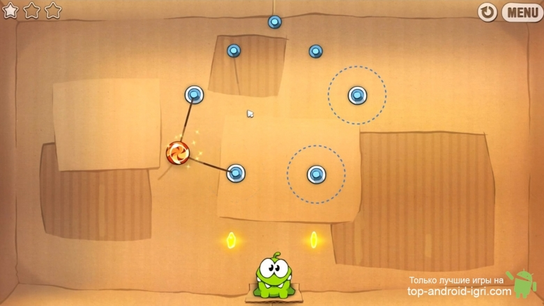 Картинка обзора Cut the Rope для Android